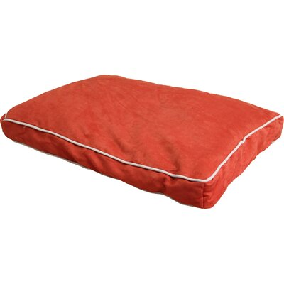 Daybed Cushion Dog Sofa Color: Tango Orange