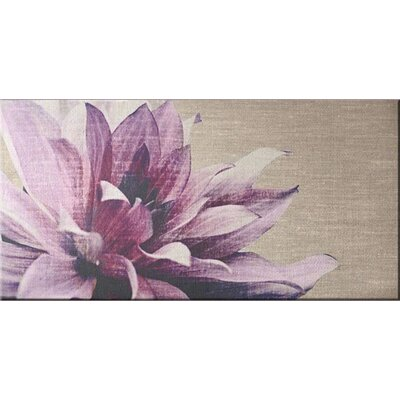 'Petals' Graphic Art Print on Wrapped Canvas