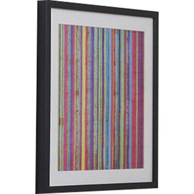 Neon Stripe Framed Graphic Art 41-321