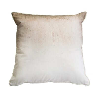 Sang Neutral Ombre 100% Cotton Throw Pillow