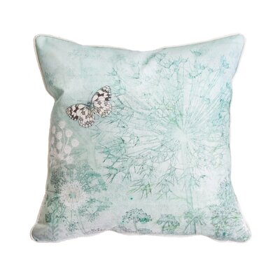 Ambridge Butterfly Meadow 100% Cotton Throw Pillow