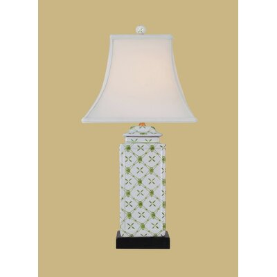 22.5 Table Lamp Base Color: Green