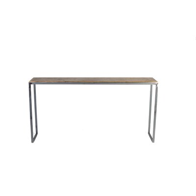 Madhav Solid Steel Console Table
