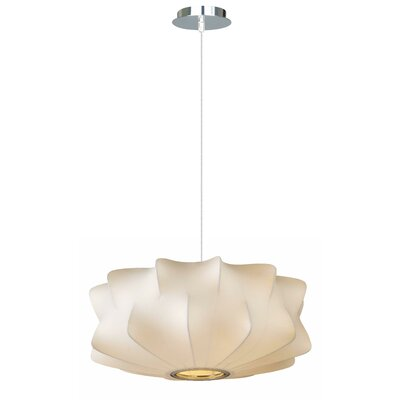 Melrose Place 2-Light Geometric Pendant Size: 8 H x 18 W