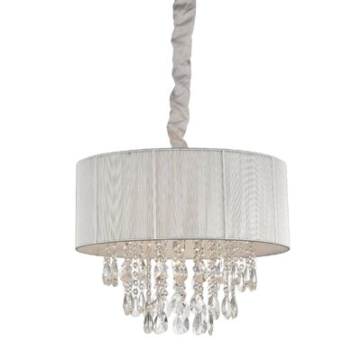 6-Light Semi Flush Mount Finish: Silver