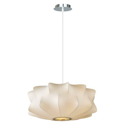 Melrose Place 2-Light Geometric Pendant Size: 6 H x 14 W