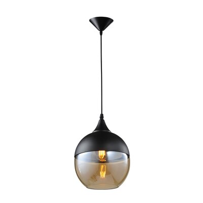 Robertson Blvd. 1-Light Globe Pendant