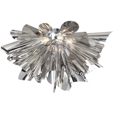 Bowery Lane 7-Light Semi Flush Mount