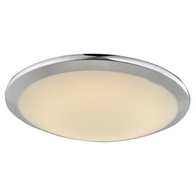 Cermack St. LED Flush Mount Color: Chrome