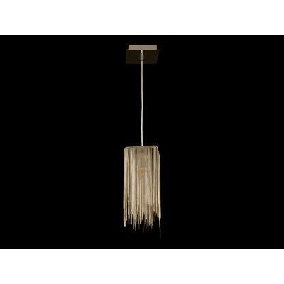 Fountain Avenue Mini Pendant Finish: Gold