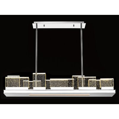 Glacier Avenue LED Kitchen Island Pendant