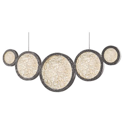 Holmberg LED Cascade Pendant Finish: Polished Nickel
