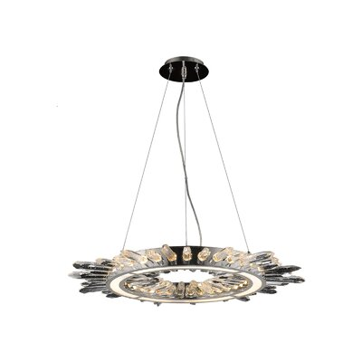 Aspen LED Drum Pendant