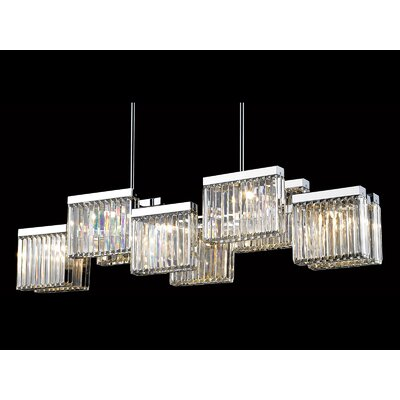 Broadway 10-Light Kitchen Island Pendant