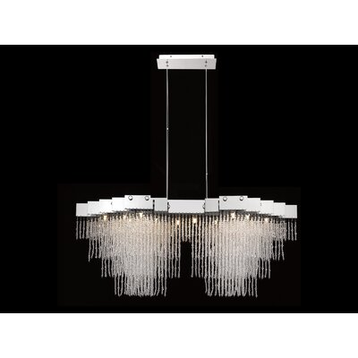 Meadow Lane 9 Light Waterfall Chandelier