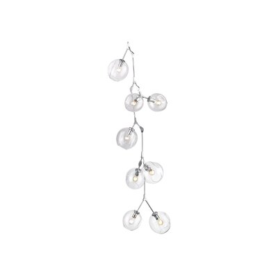 Grier 10-Light Cascade Pendant Finish: Matte Chrome