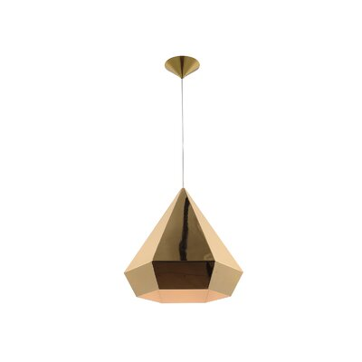 Doheny Ave. 1-Light Mini Pendant Finish: Gold