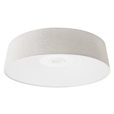 Cermack St. LED Flush Mount Color: Ivory