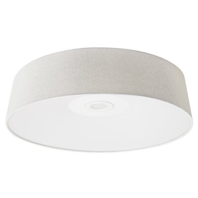 Cermack St. LED Flush Mount Finish: Ivory