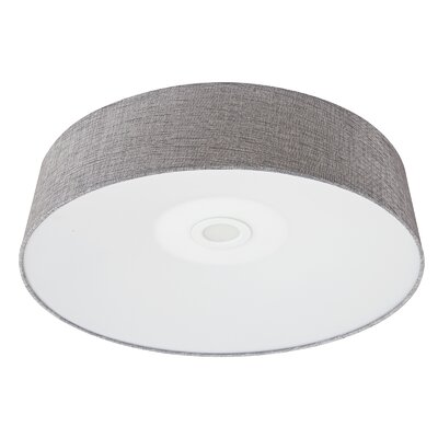 Cermack St. LED Flush Mount Finish: Gray