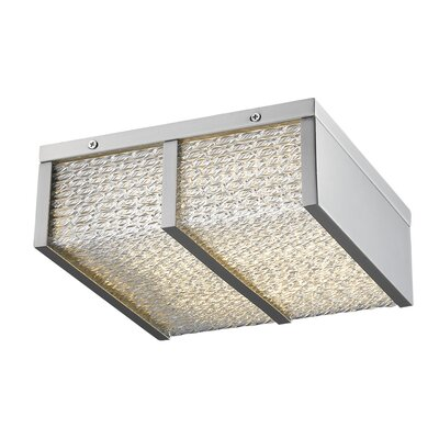 Cermack St. LED Flush Mount Finish: Brushed Nickel