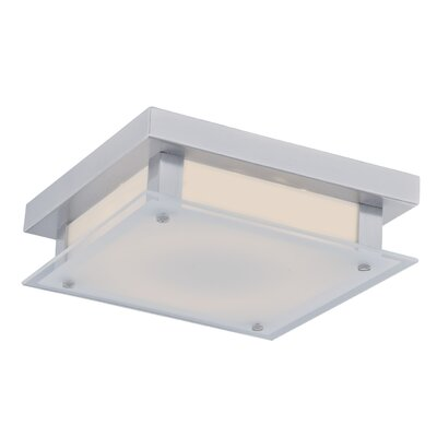 Cermack St. LED Flush Mount Finish: Chrome