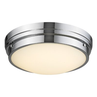 Cermack St. LED Flush Mount Finish: Polished Nickel