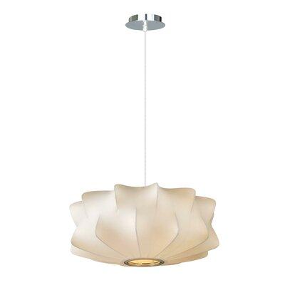 Melrose Place 2-Light Bowl Pendant Size: 6 H x 14 W x 14 D