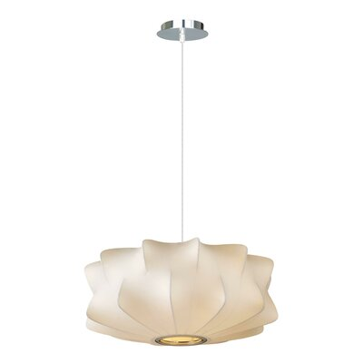 Melrose Place 2-Light Bowl Pendant Size: 8 H x 18 W x 18 D