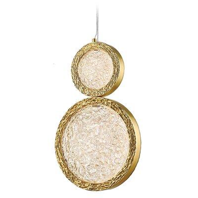 Holmberg LED Mini Pendant Finish: Polished Brass