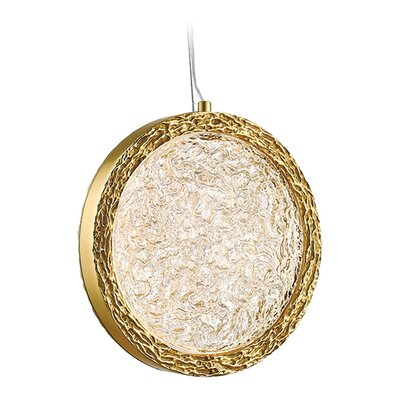 Bottega LED Mini Pendant Finish: Polished Brass