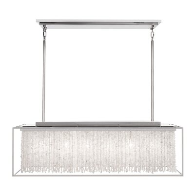 Soho 6-Light Kitchen Island Pendant Finish: Polished Nickel