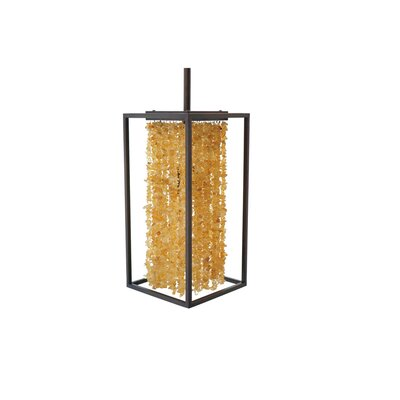 Soho 1-Light Mini Pendant Finish: Dark Bronze