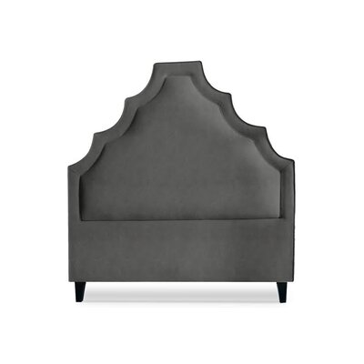 Lexi Upholstered Panel Headboard Size: Full, Upholstery: Sterling