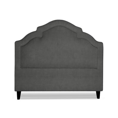 Sheila Upholstered Panel Headboard Size: Queen, Upholstery: Slate