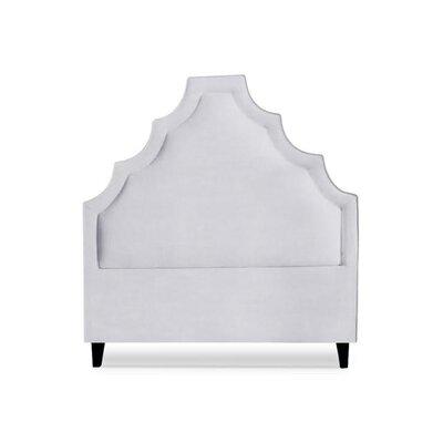 Lexi Upholstered Panel Headboard Size: California King, Upholstery: Milk