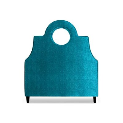 Tess Upholstered Panel Headboard Size: Queen, Upholstery: Peacock Blue