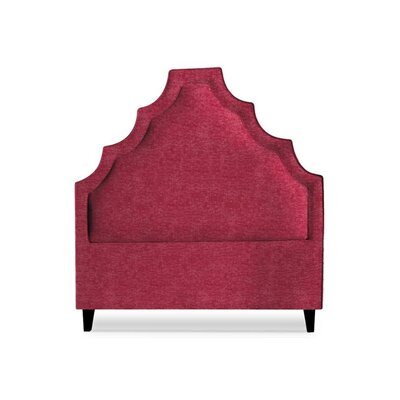 Lexi Upholstered Panel Headboard Size: Queen, Upholstery: Fuschia