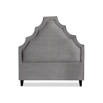 Lexi Upholstered Panel Headboard Size: King, Upholstery: Slate