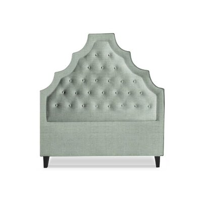 Lexi Upholstered Panel Headboard Size: Full, Upholstery: Citrus
