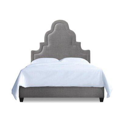 Meela Upholstered Platform Bed Upholstery: Sterling, Size: California King