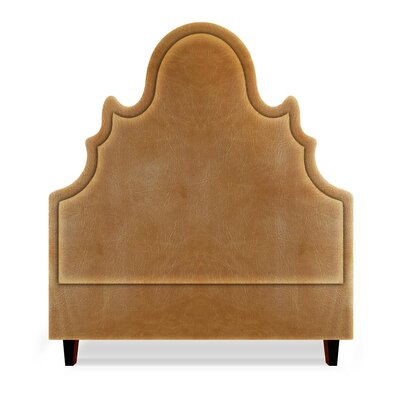 Amalie Upholstered Panel Headboard Size: Queen, Upholstery: Cashew