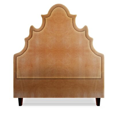 Sophie Upholstered Panel Headboard Size: Queen, Upholstery: Cashew