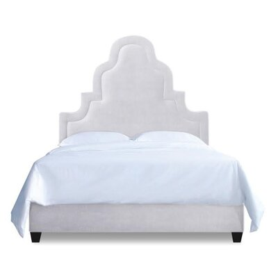 Meela Upholstered Platform Bed Size: California King, Upholstery: Milk