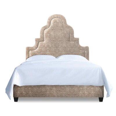 Meela Upholstered Platform Bed Size: California King, Upholstery: Sahara Brown