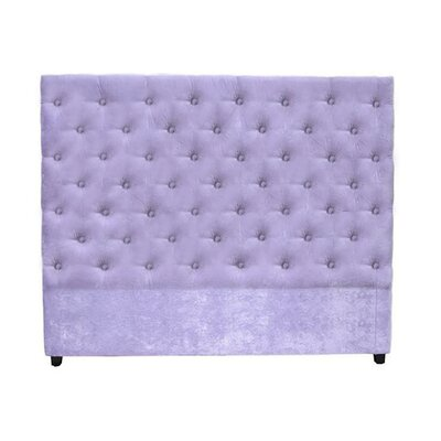 Leigh Upholstered Panel Headboard Size: King