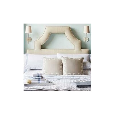 Natalie Upholstered Panel Headboard Size: Queen, Upholstery: Natural