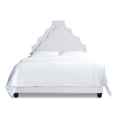 Lexi Upholstered Platform Bed Size: California King, Upholstery: Milk