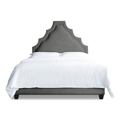 Lexi Upholstered Platform Bed Size: King, Color: Slate
