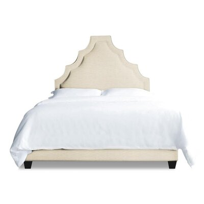 Lexi Upholstered Platform Bed Size: Queen, Upholstery: Natural